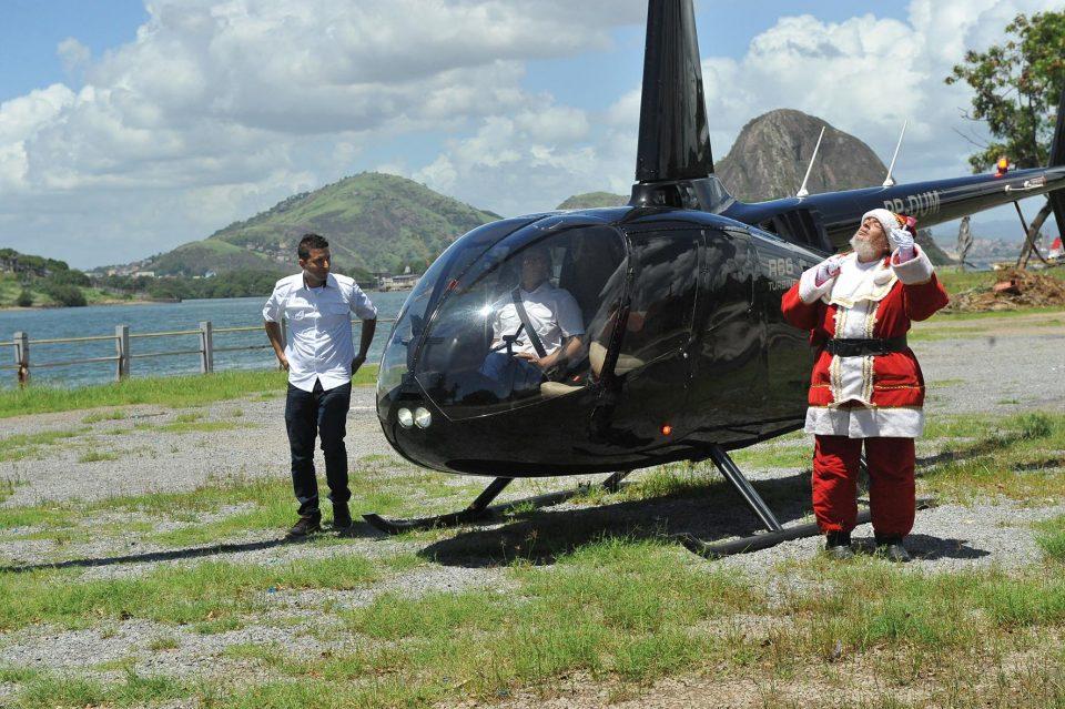Papai Noel chega
